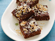Healthy Island Coconut Brownies Recipe