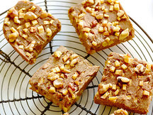 Healthy Apple Walnut Bars Recipe