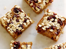 Healthy Oatmeal Raisin Bars Recipe
