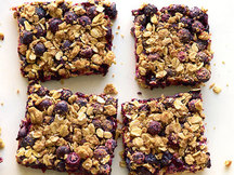 Healthy Blueberry Lemon Bars Recipe