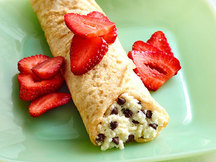 Healthy Cannoli Crepes Recipe