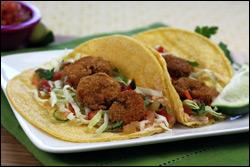 HG's Crispylicious Shrimp Tacos