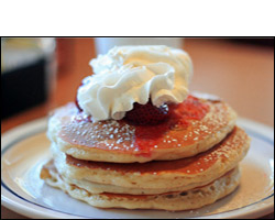 IHOP's New York Cheesecake Pancakes