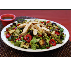 HG's Mostly Roasted Salad with Grilled Chicken
