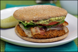 HG's Hot Guac Crispy Chicken Club