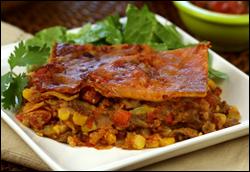 HG's Mucho Mas Mexican Lasagna