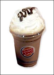 Burger King's BK Mocha Frappé