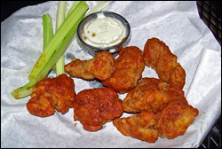 Boneless Honey BBQ Wings, Average
