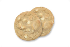 White Chocolate Macadamia Nut Cookies, Average