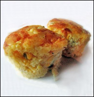 Jalapeño Cheese Corn Muffin, Average