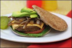 HG's Black Bean Burger Bonanza