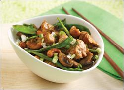 HG's Veggie-Loaded Cashew Chicken
