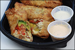 California Pizza Kitchen's Avocado Club Egg Rolls