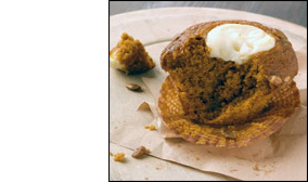 Pumpkin Cream Cheese Muffins, Average
