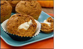 HG's Sweet-Cream Pumpkin Muffins