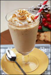 HG's Just-2-Good Gingersnap Shake