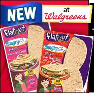 Flatout HG Foldits + Walgreens = YES!