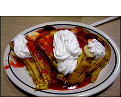 IHOP's Strawberry Banana French Toast