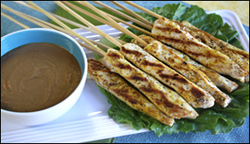 HG's Hip-Hip-Hooray Chicken Satay