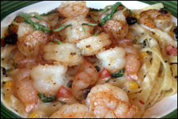 Applebee's Southwest Shrimp Fettuccine