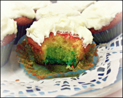 Tie-Dye Cupcake, Average