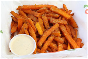 Chili's Sweet Potato Parmesan Fries