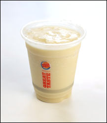 Burger King Piña Colada Smoothie