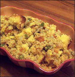 Cornbread Stuffing, Average