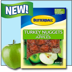 Turkey + Apples = BFFs!
