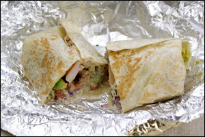 El Pollo Loco's Chicken Avocado Burrito