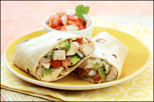 Hungry Chick Avocado Burrito