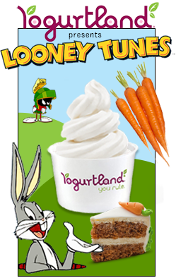 Veggies in Fro Yo? <br/>Now THAT's Looney!