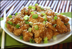 HG's Sweet 'n Sticky Sesame Chicken