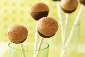 HG's Chocolate PB Cake Pops