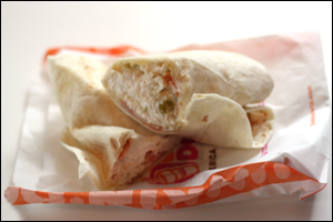 Dunkin' Donuts' Chicken Salad Wrap