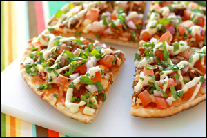 HG's Taco-Topped Pizza