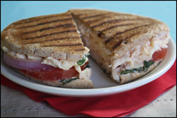 HG's Mega-Delicious Chipotle Chicken Panini