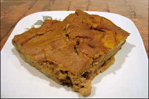 Pumpkin Bread Pudding, Average