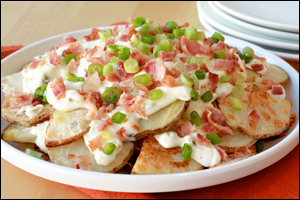 HG's Loaded Tater Nachos Supreme