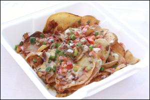 T.G.I. Friday's Loaded Skillet Chip Nachos
