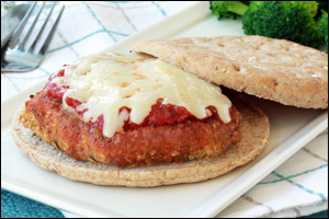 HG's No-Harm Chicken Parm Sandwich