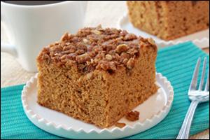 HG's Pumpkin Streusel Coffee Cake