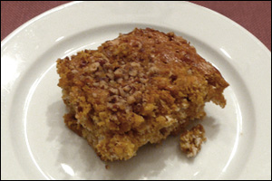 Pumpkin Coffee Cake, Average