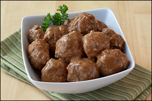 HG's Saucy Swedish Meatballs
