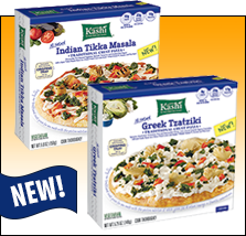 Good News: Kashi's Pizzas Are Single!