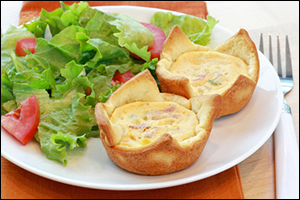 HG's Quiche Me Bacon Tarts