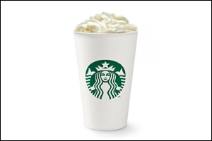 Starbucks' White Chocolate Mocha
