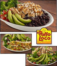 El Pollo Loco 5 Under 500 Calories