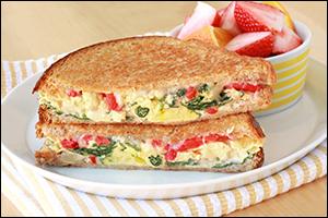 HG's Eggy Veggie B-fast Melt