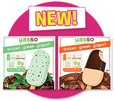 Yasso Frozen Greek Yogurt Bars